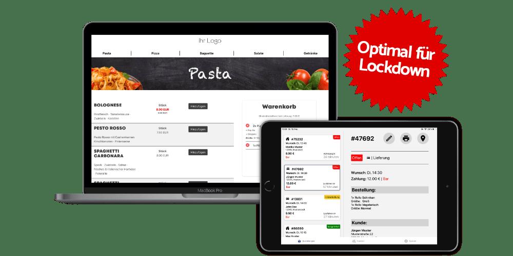 Provisionsfreier Onlineshop für Gastronomen, Restaurants und Lieferdienste von Foodsta aus Bremen. Liefer-Software, Bringdienst-Software, Liefer-Programm, Bringdienst Software