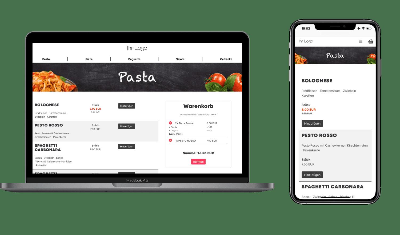 Provisionsfreier Online Shop für Gastronomen, Restaurants und Lieferdienste von Foodsta aus Bremen. Liefer-Software, Bringdienst-Software, Liefer-Programm